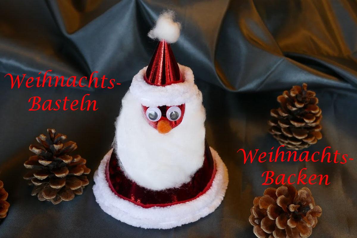 Weihnachts-Basteln und -Backen