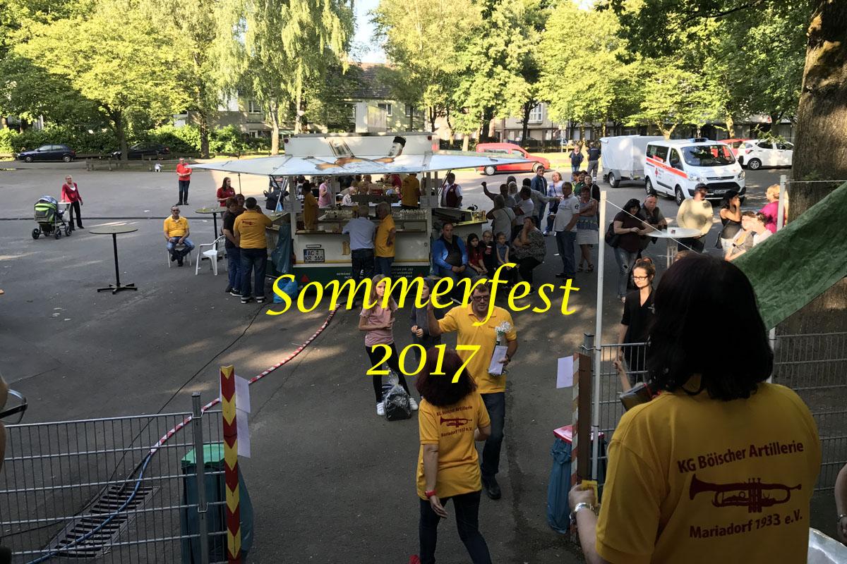 Sommerfest der Böischer Artillerie 2017