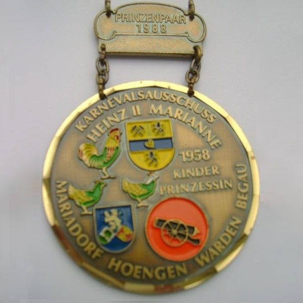 Orden 1988 Prinz Heinz II und Marianne (Cremer)