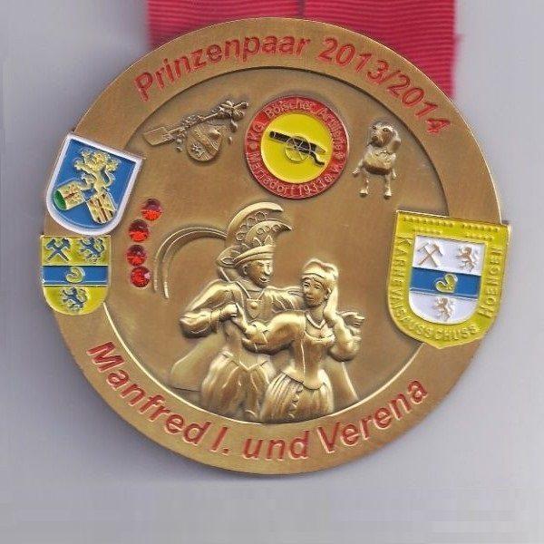 Orden 2014 von Prinz Manfred I und Verena (Umlauf)