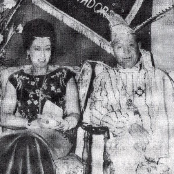 Prinzenpaar 1965 Peter I und Christel