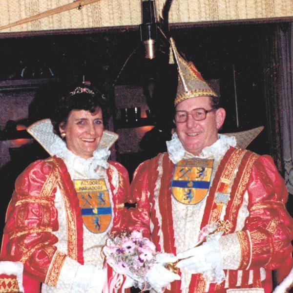 Prinzenpaar 1983 Willi und Anni (Voußen)