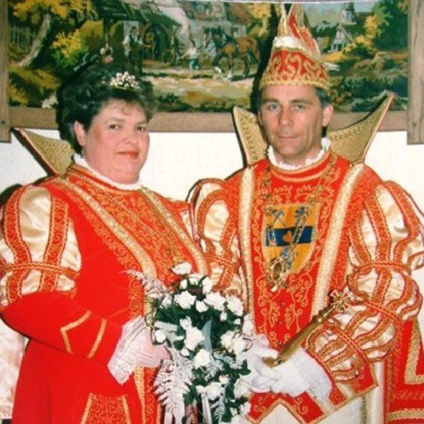 Prinzenpaar 1988. Heinz II und Marianne (Cremer)