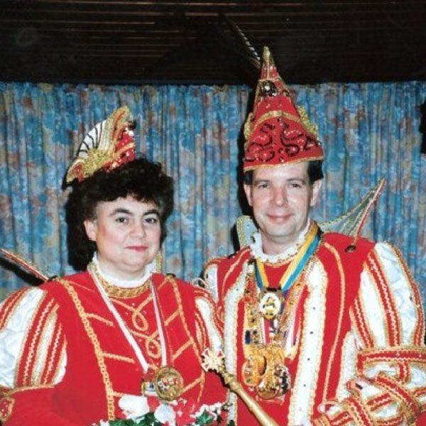 Prinzenpaar 1993 Klaus II und Maritta (Kerschgens)