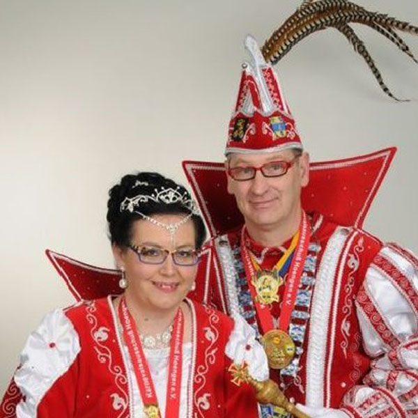 Prinzenpaar 2014 Manfred I und Verena (Umlauf)