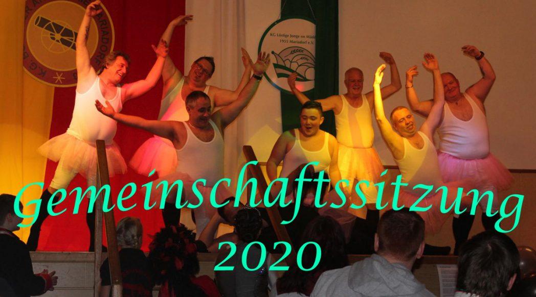 Gemeinschaftssitzung 2020